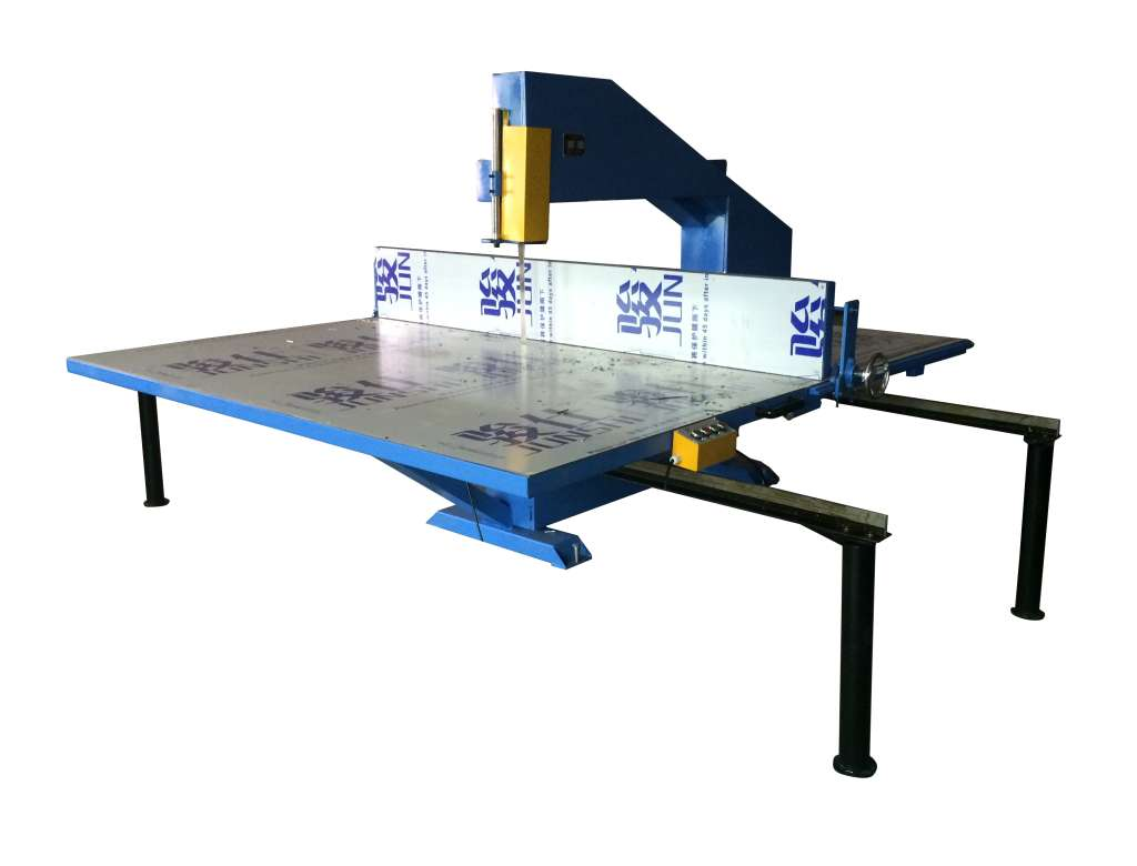 Three-wheel vertical cutting machine